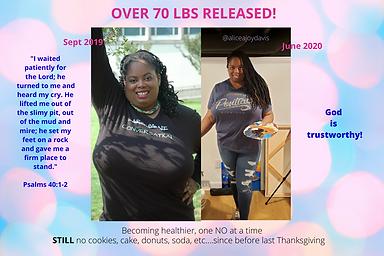 Copy of Alicea Joy Davis- Weight loss up