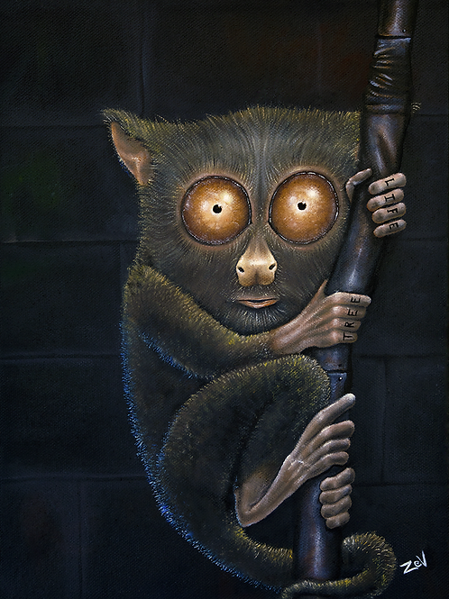 """BushBaby"" Giclee Paper Print"