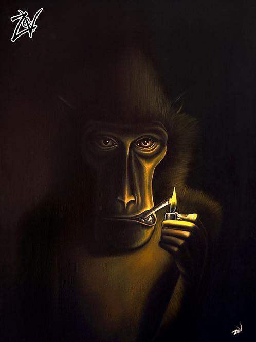 """Smoking Sulawesi"" Gallery Wrap Canvas Print"