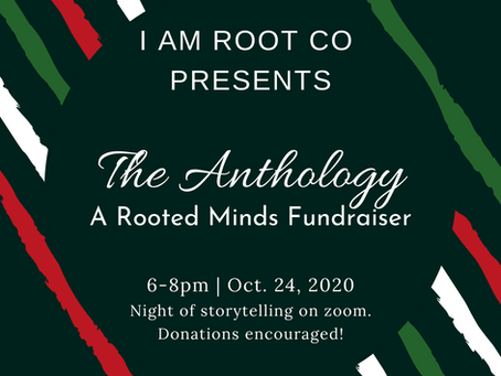 The Anthology - A night of storytelling and poetry with the Rooted Minds Blog