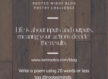 #keepitshortchallenge | We kick off November, with a fun Poetry challenge!