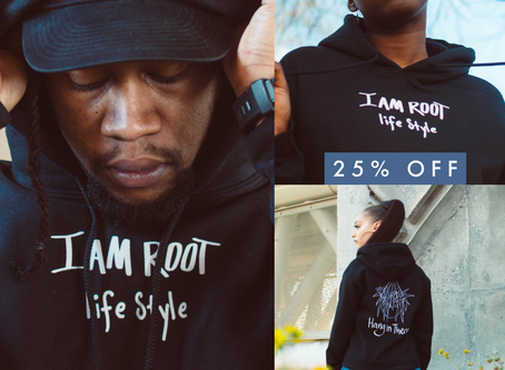 I Am Root Lifestyle Apparel Sale!