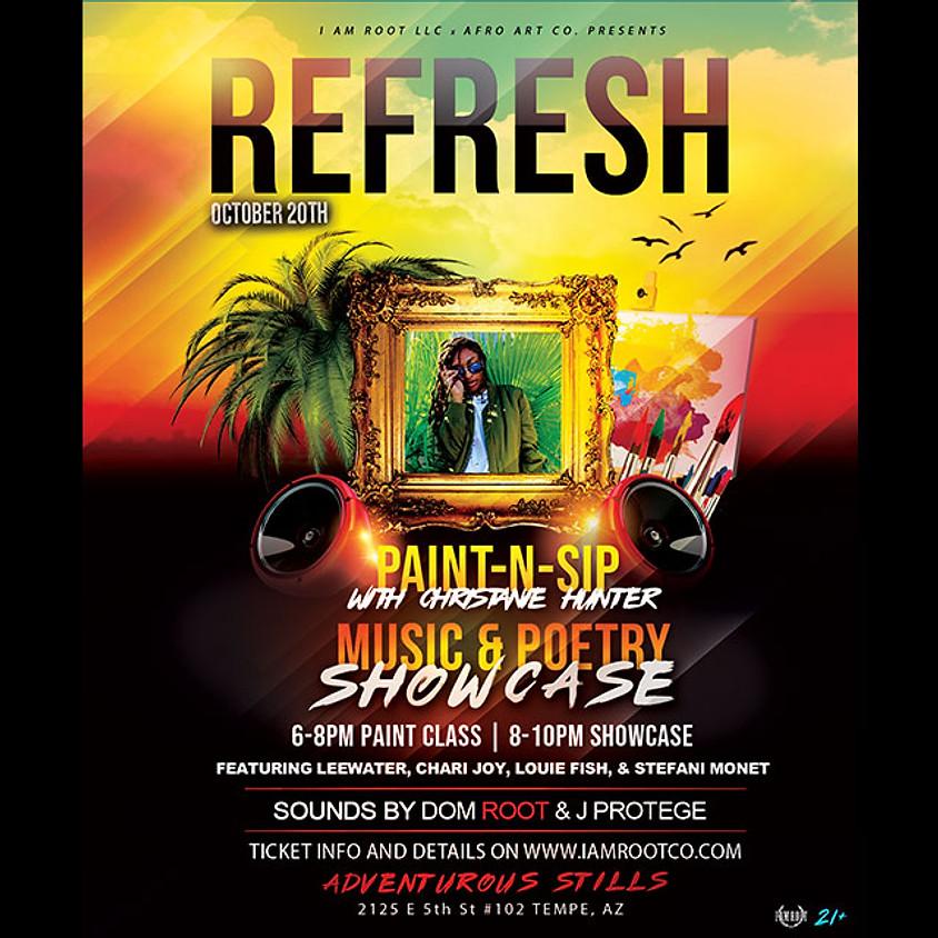 REFRESH. | Art Party & Live Music Showcase