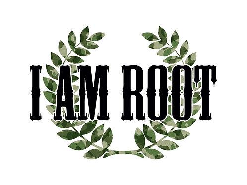I Am Root® Camo (Smartphone Wallpaper)