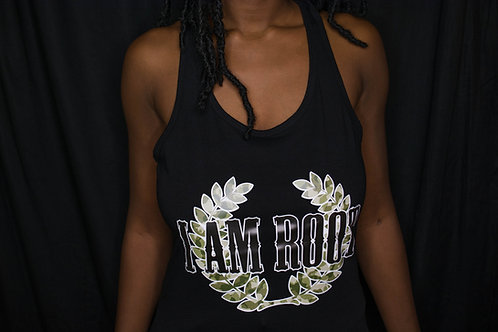 Women's I Am Root® Logo Racerback Tank