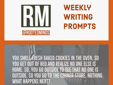 Weekly Writing Prompts 5/29