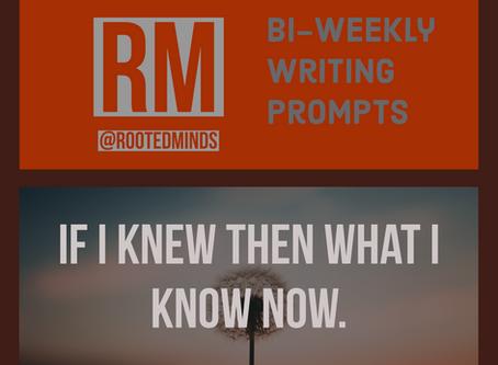 Bi-Weekly Writing Prompts 03.24