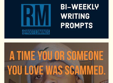 Bi-Weekly Writing Prompt 3/12/20