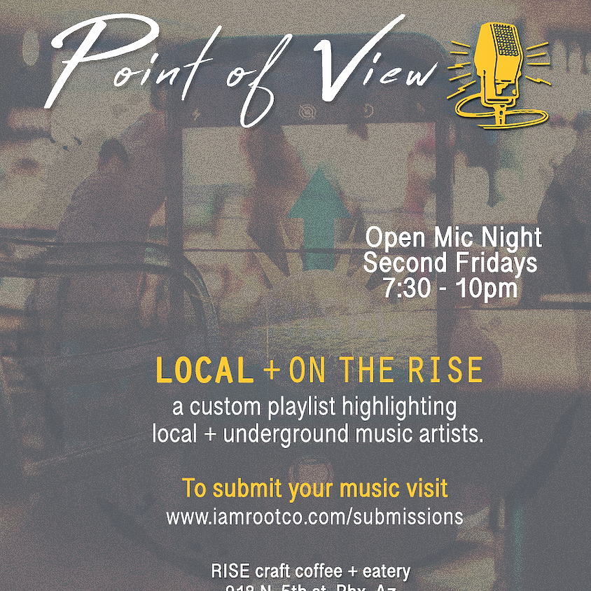 November Point of View Open Mic