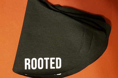 'ROOTED' Cotton Mask
