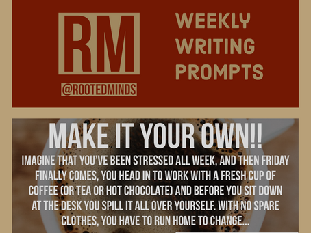 Weekly Writing Prompt 11/13