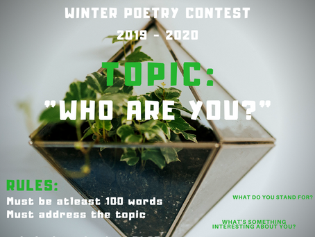 Our new Poetry Contest is Live!