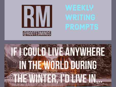 Weekly Writing Prompt 12/10