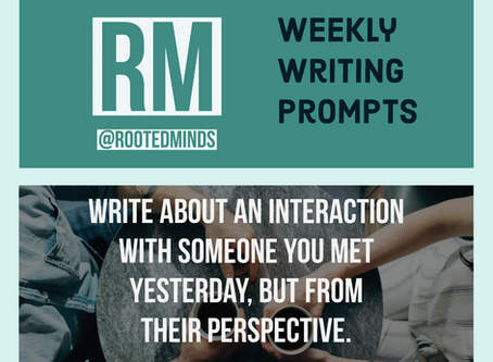 Weekly Writing Prompt 1/3/2020 (2/2)