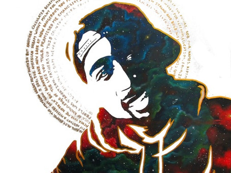 Antoinette Cauley to Raffle off Popular Tupac Painting 'Panther Power!
