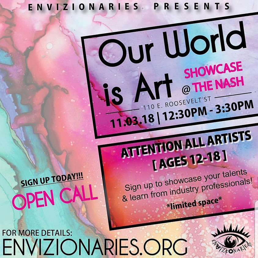 Our World is Art (Showcase)