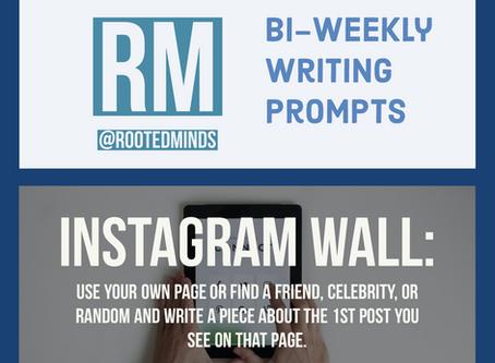 Bi-Weekly Writing Prompt 4/7