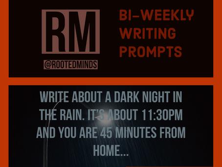 Bi-Weekly Writing Prompt 1/30/2020