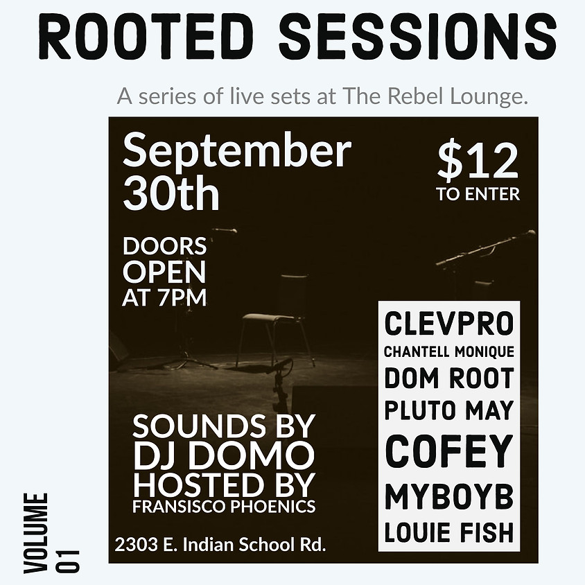 Rooted Sessions Vol 1 by I Am Root LLC.