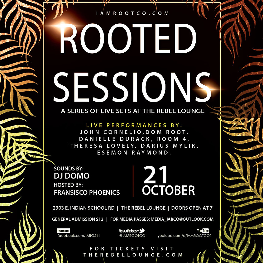 Rooted Sessions Vol 2 by I Am Root LLC.