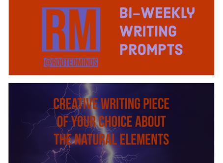 Bi-Weekly Writing Prompt 2/13/2020