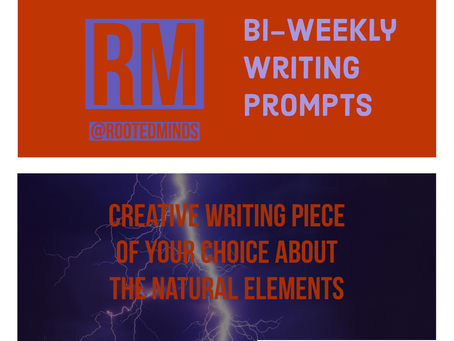 Bi-Weekly Writing Prompt 2/13/2020
