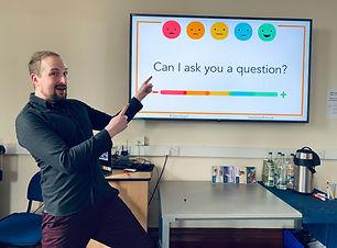 Jamie Gallagher Evaluation training