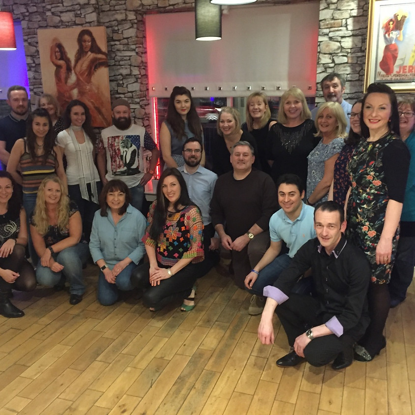 Paisley Beginners Salsa, 8 week course