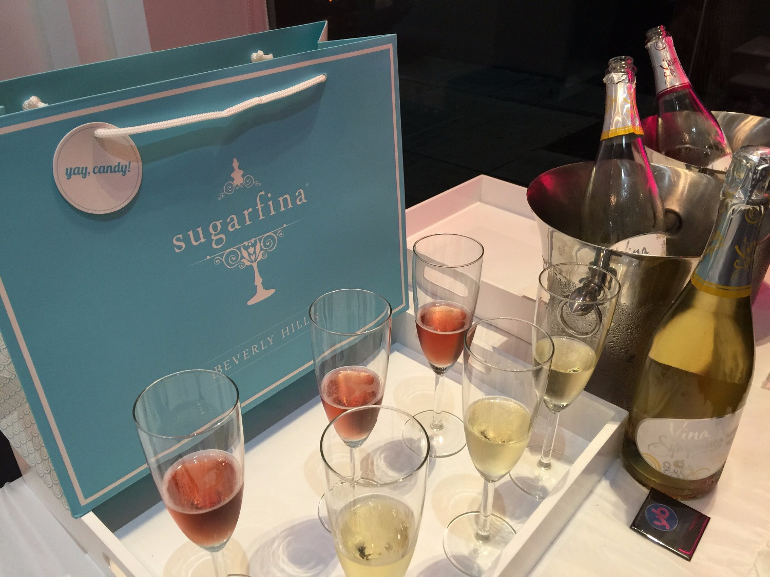 David Cruz Book Launch @ Sugarfina