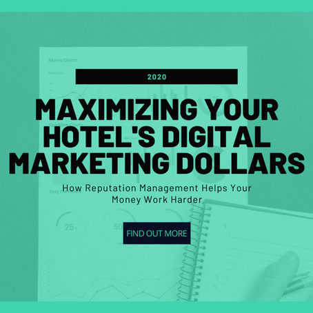 Maximizing Your Hotel's Digital Marketing ROI in 2020
