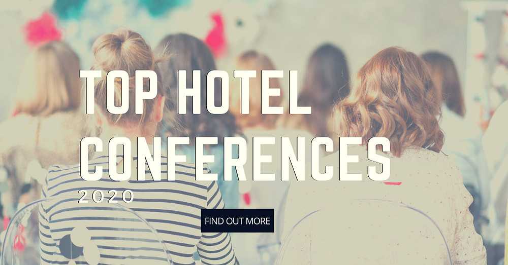 women sitting in conference - blog post conferences hotel professionals should attend