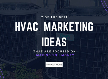 7 of the Best HVAC Marketing Ideas That Are Laser-Focused on Making You Money