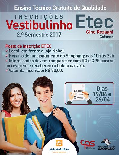 Etec Gino - Shopping Anhanguera