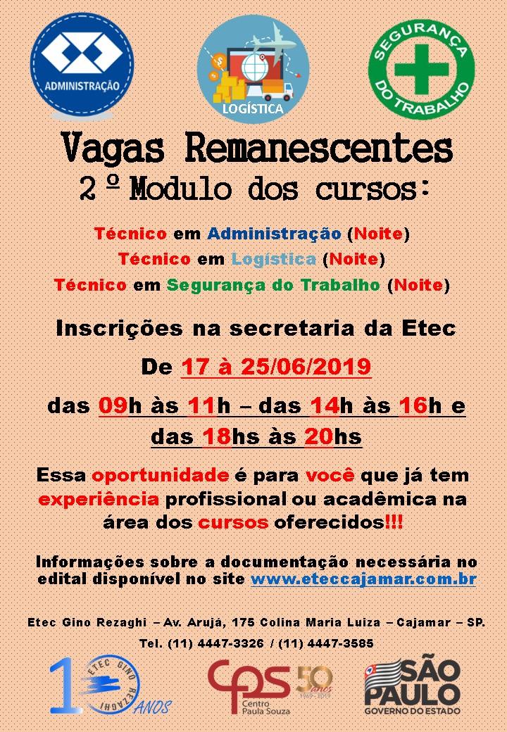 ETEC   Etec Gino Rezaghi   Brasil
