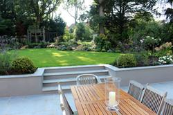 Family garden in Long Ditton
