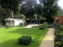 A family garden in Kingston
