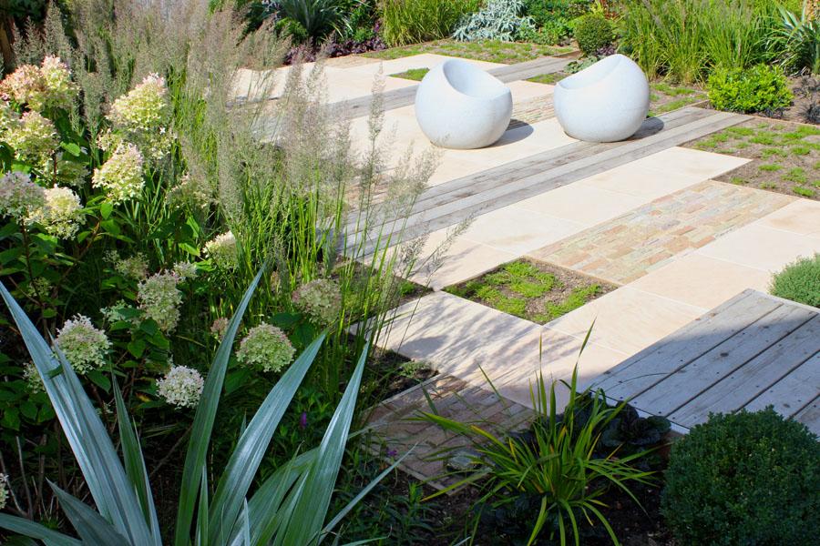 A textural garden