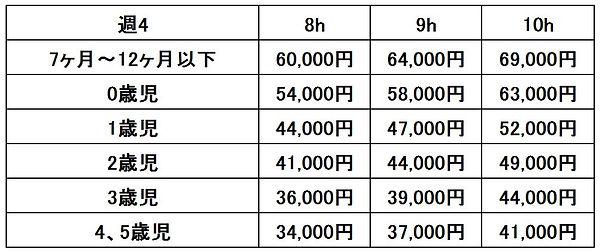 料金表(週4).JPG