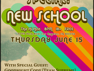 After School Special: Mikey Backpack's First Live Show - Thursday June 15th