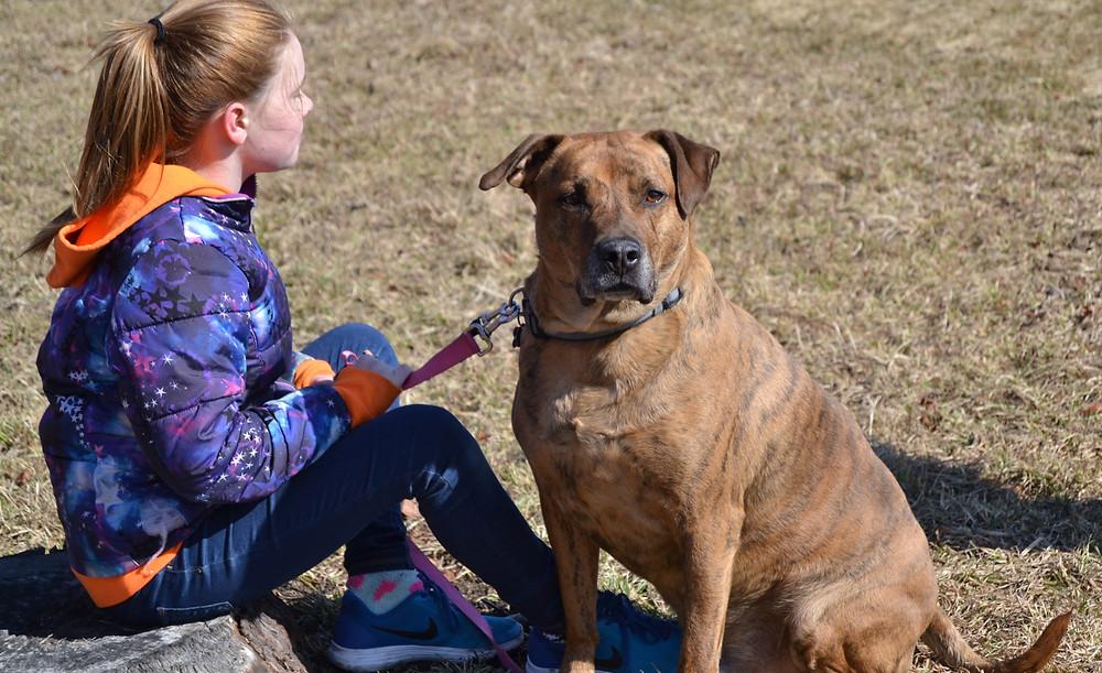 Rufus works for Lulu.