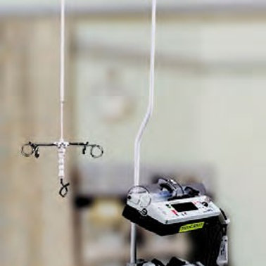 MOVATRACK IV200 HEAVY DUTY OVERHEAD INTRAVENOUS TRACK SYSTEM