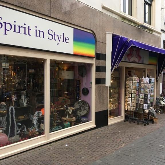 Ontvang een boodschap in de winkel 'Spirit in Style'