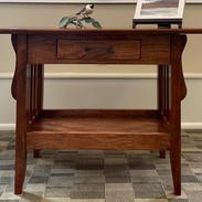 Cherry & Walnut End Table by Bill Morlock