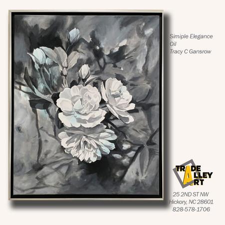 Simple Elegance Oil Tracy Gansrow