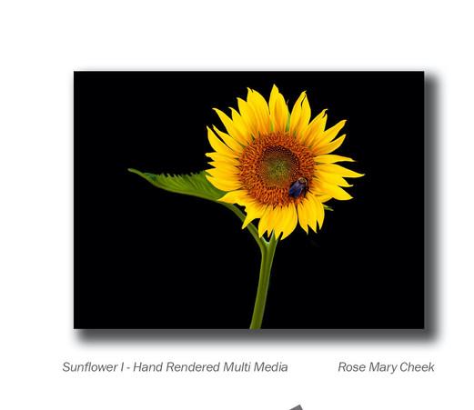 Sunflower Rose Mary Cheek