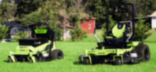 greenworks commercial battery zero turn lawn mower