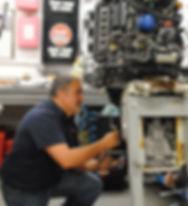 Boat repair dealer power equipment lawn