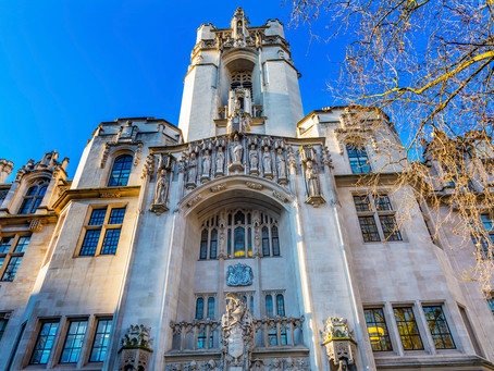 Lady Rose of Colmworth becomes the newest addition to the UK Supreme Court.