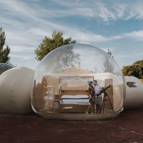 Una noche en una burbuja