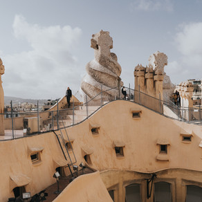 Visita a La Pedrera en Barcelona
